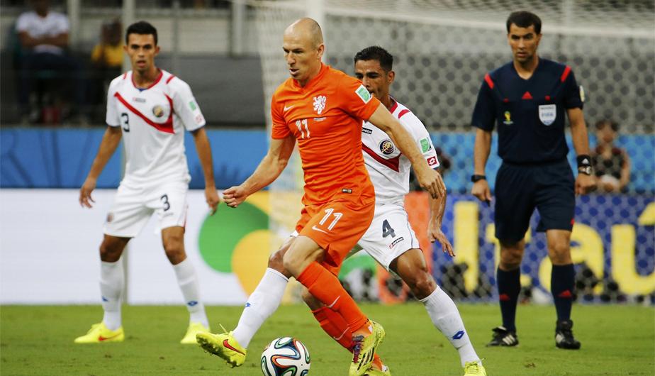 Resultado de imagen para Holanda 0 - 0 Costa Rica mundial 2014