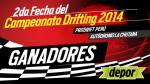 Campeonato Drifting 2014: Conoce los ganadores de las entradas dobles para la segunda fecha - Noticias de alfredo sotelo