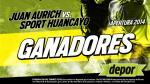 Juan Aurich vs. Sport Huancayo: estos son los ganadores de las 20 entradas dobles - Noticias de michele hlavsa