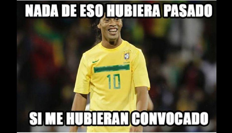 Brasil vs. Alemania Ronaldinho y los Simpson en nuevos memes del Mineirazo