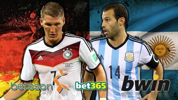 Alemania y Argentina chocarán en una final de Copa del Mundo 24 años después. (Ilustración Depor)