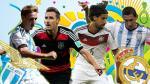Alemania vs. Argentina: solo 4 finalistas actúan en los mismos equipos - Noticias de ss nápoli