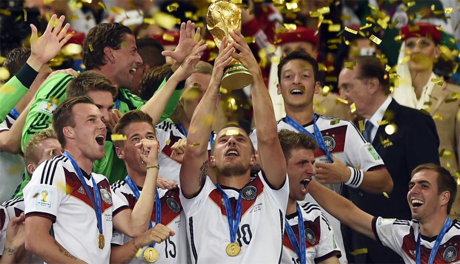 Megapost; Alemania campeón 2014