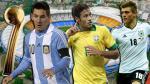 Brasil 2014: los 10 jugadores nominados al Balón de Oro del Mundial - Noticias de any rodriguez