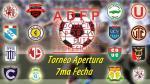 Torneo Apertura: así quedó la tabla de posiciones tras la séptima fecha - Noticias de tabla de posiciones fecha 43