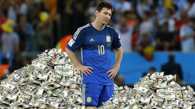 Argentina realiza deposito U$S Millonario, para lograr clasificación a Rusia 2018