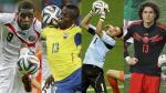 Brasil 2014 y los 20 jugadores que más se valorizaron durante el Mundial