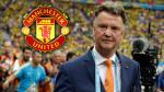 Louis Van Gaal ya ejerce de técnico del Manchester United tras Brasil 2014 - Noticias de copa de holanda 2014-2015