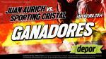 Juan Aurich vs. Sporting Cristal: estos son los ganadores de las 20 entradas dobles - Noticias de antonio jose galan
