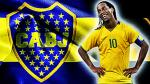 Ronaldinho y la posibilidad de jugar en Boca Juniors - Noticias de sebastián vignolo