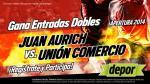 Juan Aurich vs. Unión Comercio: estos son los ganadores de las 20 entradas dobles - Noticias de alvaro peralta