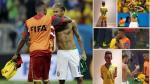 Neymar: hijo de Samuel Eto'o no se quita la camiseta del brasileño