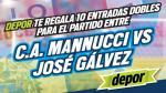 Carlos A. Mannucci vs. José Gálvez: estos son los ganadores de las 10 entradas dobles - Noticias de angelo mannucci