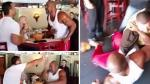 Boxeadores arman tremenda pelea en una pizzería de Estados Unidos