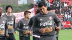 Selección Peruana: Rinaldo Cruzado sufrió un golpe en la rodilla izquierda