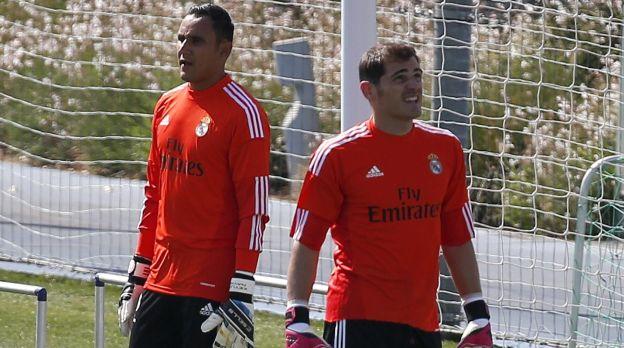 Habrá rotación en Liga entre Casillas y Keylor Navas