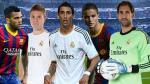 Barcelona vs. Real Madrid: ¿quiénes son los 6 descartes de los grandes? - Noticias de fichajes 2013 europa