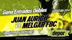 Juan Aurich vs. Melgar: estos son los ganadores de las 20 entradas dobles - Noticias de fernando castaneda melgar