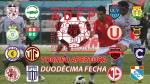 Torneo Apertura: hora, canal y árbitros de la fecha 12 - Noticias de alianza lima vs sporting cristal
