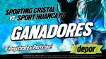Sporting Cristal vs. Sport Huancayo: estos son los ganadores de entradas dobles - Noticias de jorge enrique bazan