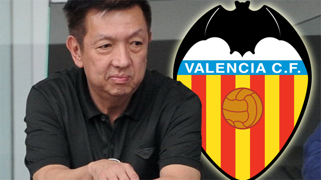 Peter Lim se marca un objetivo a gran escala continental para el Valencia CF