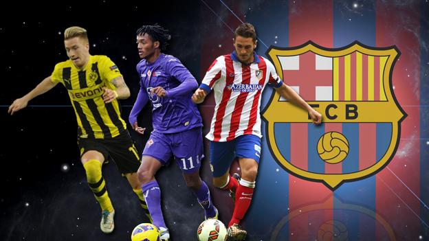 Barcelona compraría 3 jugadores y los prestaría hasta 2016 (GIFS)