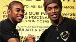Robinho y su deseo de jugar junto a Ronaldinho en el Santos - Noticias de brasileirao 2013