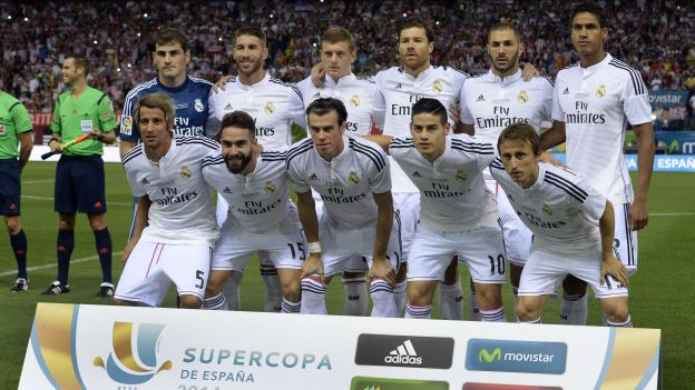 equipo actual real madrid: