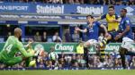 Arsenal empató 2-2 ante Everton sobre el final por la Premier League - Noticias de santiago cazorla