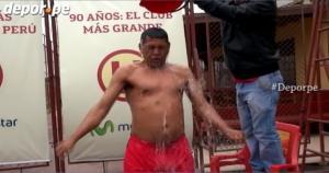 José Luis Carranza se unió a la campaña contra la esclerosis lateral amiotrófica. (Johnny Ayala)