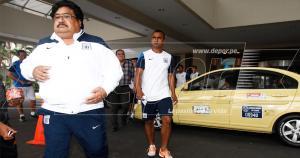 Alianza Lima se encuentra alojado en el hotel Hilton Guayaquil. (Leonardo Fernández)