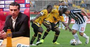 Cristian Penilla abrió el marcador. Pedro Velasco e Ismael Blanco también anotaron. (Alexander Bustillos/AFP)