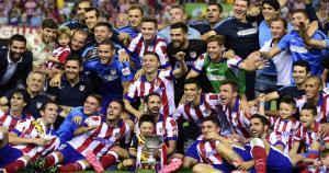 Atlético de Madrid ganó la segunda Supercopa de España de su historia. (AFP)