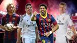 Real Madrid vs. Barcelona: compara los 11 fichajes de ambos clubes en esta temporada