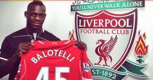 Mario Balotelli jugará por segunda vez en la Premier League: antes lo hizo en el Manchester United.