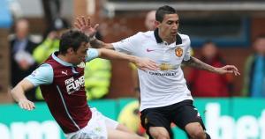 Ángel Di María jugó en el 0-0 del Manchester United ante el Burnley por la Premier League. (Reuters)