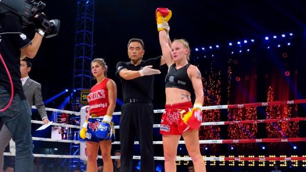 Valentina Shevchenko campeonó en el Woman World Gran Prix de China