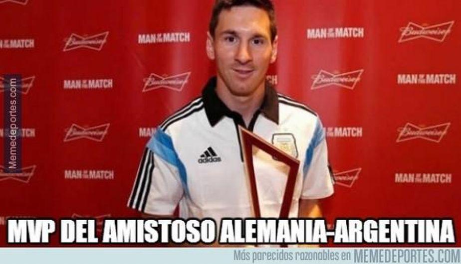 Argentina mira los mejores memes del partidazo amistoso (FOTOS)