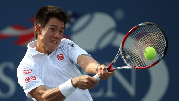 Nishikori  - US Open '14 - cde.3.depor.pe