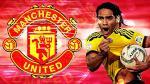 Radamel Falcao fue cedido por el Mónaco al Manchester United