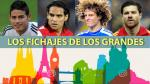 Fichajes: ¿qué jugadores contrataron los clubes más grandes de Europa? - Noticias de tonny sanabria
