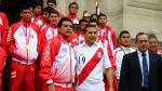 Selección Peruana Sub 15 visitó Palacio de Gobierno y fueron homenajeados por el Presidente - Noticias de perú