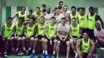 La selección Peruana luego de los entrenamientos en Dubái. (@RinaldoCruzado8)