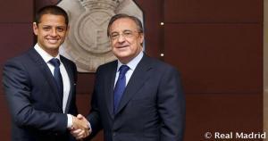 Javier Hernández jugará a préstamo por una temporada en el Real Madrid.