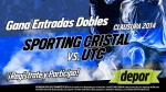 Sporting Cristal vs. UTC: Depor te regala 10 entradas dobles - Noticias de sporting cristal vs utc