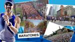 Maratones: conoce las nueve más importantes del mundo - Noticias de mundial atletismo 2013