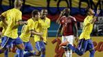 Brasil venció 1-0 a Colombia en amistoso con golazo de Neymar