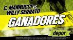 Carlos A. Mannucci vs. Willy Serrato: estos son los ganadores de las entradas dobles - Noticias de gaby perez