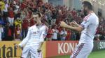 Gareth Bale imitó celebración de Cristiano Ronaldo tras marcarle gol de cabeza a Andorra (VIDEO)