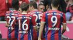 Con Claudio Pizarro: Bayern Munich venció 2-0 Stuttgart por la Bundesliga